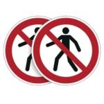 Durable Prohibited Sign 5pk BOGOF