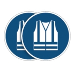 Durable Safe Vest Sign 5pk BOGOF