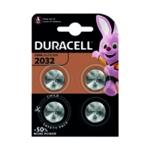 Duracell 2032 Lithium Coin Battery Pk4
