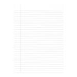 A4 Exercise Paper Ruled 500Sht Pk5