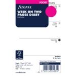 Filofax Pocket Week To View 2020 Refill