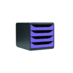 Iderama Purple 4 Drawer Set
