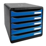 Iderama Blue 5 Drawer Set