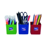 Helix Pencil Pots Assorted Pk12