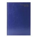 Academic A4 Blue Diary WTV 2019-20