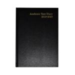 Academic Black A5 Diary WTV 2019-20