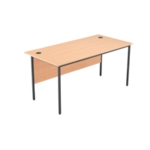 FF Jemini Beech 1532mm Single Desk