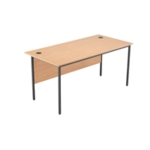 FF Jemini Oak 1532mm Single Desk