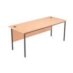 FF Jemini Beech 1786mm Single Desk