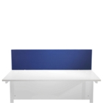 FF Jemini Blue 1600mm Strt Desk Screen