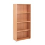 FF Jemini 18 Beech 1620mm Open Bookcase