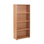 FF Jemini 18 Oak 1620mm Open Bookcase