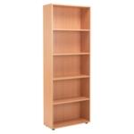 FF Jemini 18 Beech 2004mm Open Bookcase