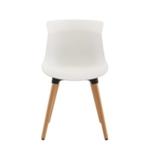 FF Jemini White Nuovo Bistro Chair