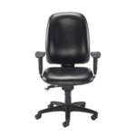 FF Avior Snowden Chair Black PU