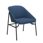 FF Jemini Navy Bistro Reception Armchair