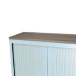 Talos Cupboard Wooden Top Dark Walnut