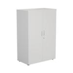 FF Jemini White 1200mm 1 Shelf Cupboard