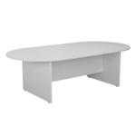 FF Jemini White 2400mm Meeting Table