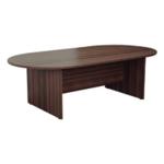 FF Jemini Walnut 2400mm Meeting Table