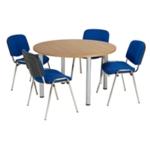 FF Jemini Beech 1200mm Circ Table