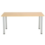 FF Jemini Oak 1200x800mm Rect Table