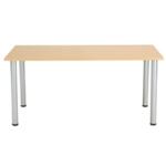 FF Jemini Oak 1600x800mm Rect Table