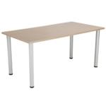 FF Jemini Gr Oak 1600x800mm Rect Table