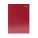 Burg A4 Desk Diary 2 Days Per Page 2020