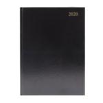 Black A4 Desk Diary WTV 2020