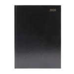 Black A5 Desk Diary WTV 2020