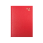 Letts 11X Red A5 DPP Diary 2020