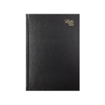 Letts 11Z Black A4 DPP Diary 2020