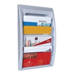 Fast Paper Oversized Wall Display Silver
