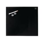 Nobo Glass Magnetic Whiteboard Black