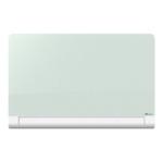Nobo 57 Inch White Glass Whiteboard