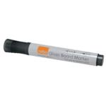 Nobo Glass Whiteboard Markers Black Pk4