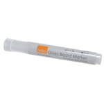 Nobo Glass Whiteboard Markers White Pk4