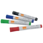 Nobo Glass Whiteboard Markers Asstd Pk4