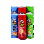 Pringles Tubular Pencil Case Pk6