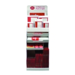 Postpak Red Display Stand And Stock