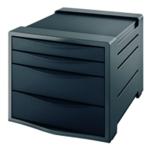 Rexel Choices Drawer Cabinet Black