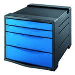Rexel Choices Drawer Cabinet Blue