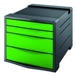 Rexel Choices Drawer Cabinet Green