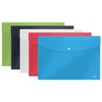 Rexel Choices Popper Wallet A5 Astd Pk5