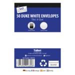 Tallon 50 Duke White P&S Envelopes Pk12