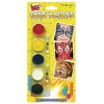Tallon 5 Colour Face Paints Pk12