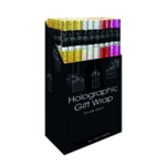 Holographic Gift Wrap Display Pk50