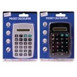 Tallon Pocket Calculator Blk Silv Pk12