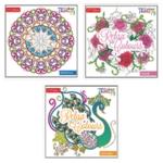 Tallon Adult Colouring Book Series2 Pk12